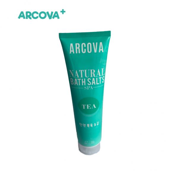 Bath Salts in Tea, Body Scrub, shower wash, pure extracts, made in Korea