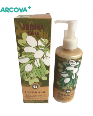 Olive Oil Body Lotion, soft skin